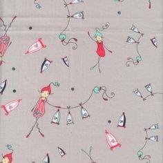Natalie Lymer - Folk Tale - Flying Pixies in Grey