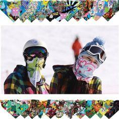 Winter Outdoor snowboard ski face mask neck warmer Motorcycle Balaclava bandana