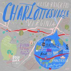 24 Hours in Charlottesville, VA with Elisa Bricker - Design*Sponge