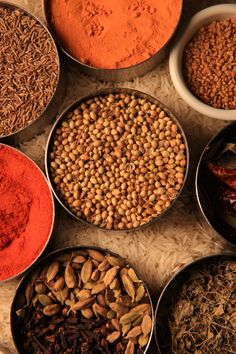 Indian Spices - love trying new recipes