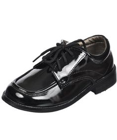 Josmo Cambreling Patent Oxford Shoes (Toddler Boys Sizes 5 - 12) - List price: $30.00 Price: $19.99 Saving: $10.01 (33%)