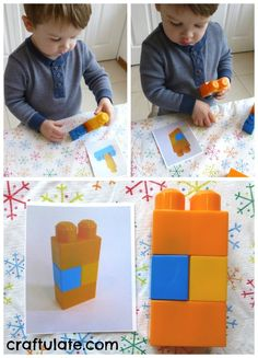 Copying Patterns with Building Blocks