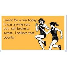 wine run hahhaha