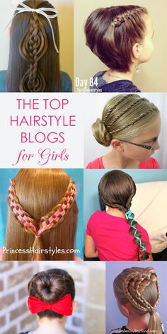 Top 5 hair blogs for girls' hairstyles