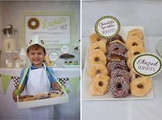 Donut Shop Birthday Party Theme