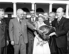 About National Thanksgiving Turkey ... history of this White House tradition since President Truman's era |  via www.minnesotaturkey.com/presidentialturkey
