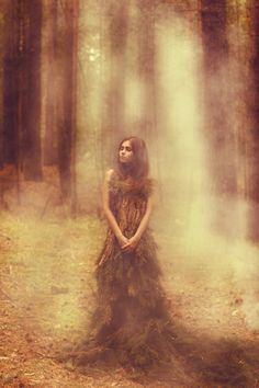 but the trees were kind and took her in, and she lived among them