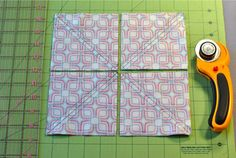 Half Square Triangles (HSTs): 8 at a Time! « Sew,Mama,Sew! Blog