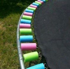"Pool noodles have a ton of uses, Share your Favorite ""Pool Noodle Repurpose"" in the comments below, the top 5 that get the most ""Likes"" will receive Coupons for Free All Natural Ice Cream (1.5Qts, Any Flavor!) from Turkey Hill Dairy! Photos appreciated, but not required to play! Example... cutting a pool noodle into sections to use to cover the springs on a trampoline..."