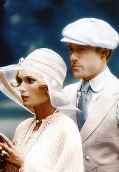 1974 - The Great Gatsby - Robert Redford & Mia Farrow