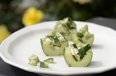 Simple Cucumber Snacks - My Real Food Family
