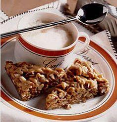 Cappuccino Caramel Oat Bars - Recipe | http://www.quakeroats.com/