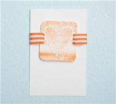 This simple card is sure to make someone feel your love!