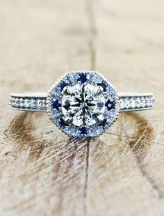 Unique Engagement Rings by Ken & Dana Design