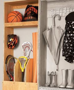 Garage Storage: Backdoor Storage Center - Step by Step | The Family Handyman