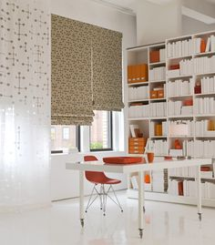 modern window, curtains, eam, offices, window treatments, shade store, roman shades, dot, cubicl