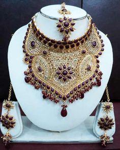 Wedding jewelry, india