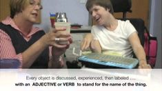 """Pragmatic Development: Learning to ask """"what"""" using visual masking to target vocabulary"""