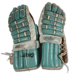 1970s WHA Quebec Nordiques Game Used Hockey Gloves