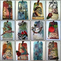 Tim Holtz 2008 tags