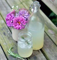 Sparkling Rosemary Limeade