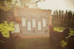 How To Create A Rustic Table Plan for £20 ~ A DIY Tutorial… | Love My Dress® UK Wedding Blog
