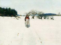 Colours and Composition, Hans Anderson Brendekilde (1857-1942) Danish Painter ~ Blog of an Art Admirer