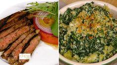 Rib Steak with Adobo Rub & Creamed Kale Au Gratin: Part 1