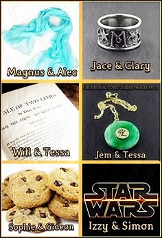 1. Violins for Jem and Tessa as well. 2. Veritable mountains of SCONES, not cookies. Not that I don't love cookies. And those might be scones, but they look like cookies to me. 3. MALEC SCARVES *feels*