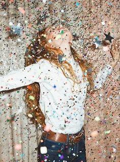 Sparkle and shine confetti