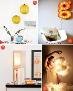 20 DIY Modern Lighting Projects (if you're into that kind of thing!)