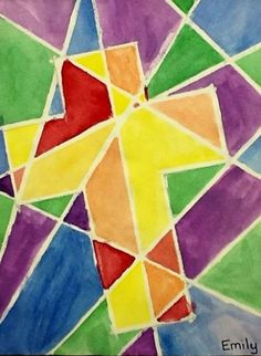 "From exhibit ""Watercolor Cross""  by Emily6750"