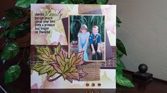 Stamp This!: Fall Memories - #Fall #Scrapbook pages with Burlap and Fibers and Leaves, Oh MY!