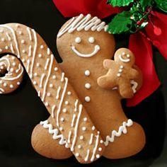 Eileen's Spicy Gingerbread Men Recipe