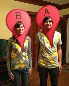 Google Maps costumes