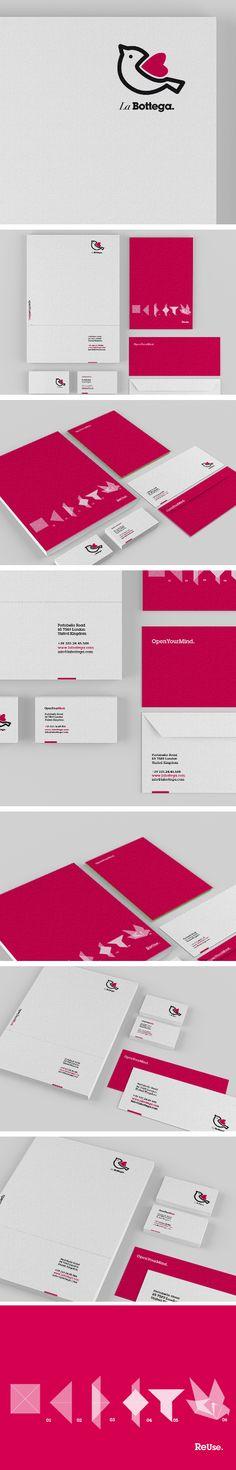 © Valentina De Laurentis | #stationary #corporate #design #corporatedesign #logo #identity #branding #marketing <<< repinned by an #advertising agency from #Hamburg / #Germany - www.BlickeDeeler.de | Follow us on www.facebook.com/BlickeDeeler