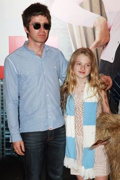 Noel Gallagher with daughter Anaïs