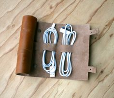 A cord organizer. Can anyone be this organized?