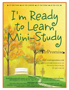 New Freebie: I'm Ready To Learn