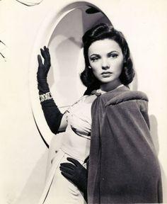 1940s Gene Dolls | Mothic Flights And Flutterings, Gene Tierney C. 1940s