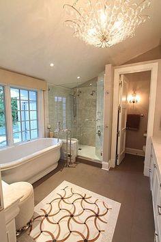 Romantic bath romantic bath pinterest for Romantic master bathroom