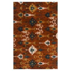 I pinned this Surroundings Rug in Russet from the Surya event at Joss and Main!
