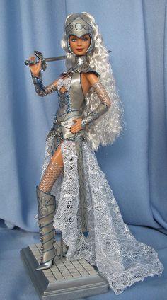 Audrey the Paladin. ooak barbie