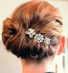 Bejewel your updo.