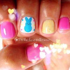 Peep nails.