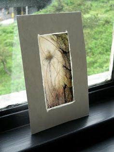 Encaustic on wax paper