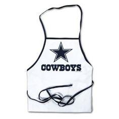 Dallas Cowboys Apron - Tailgate Time here we come!