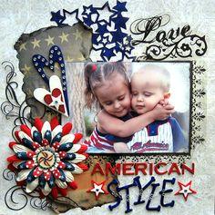 Love American Style - Scrapbook.com