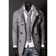 Stylish Stand Collar