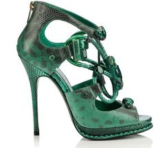"Jimmy Choo ""Vices"" collection - Emerald"